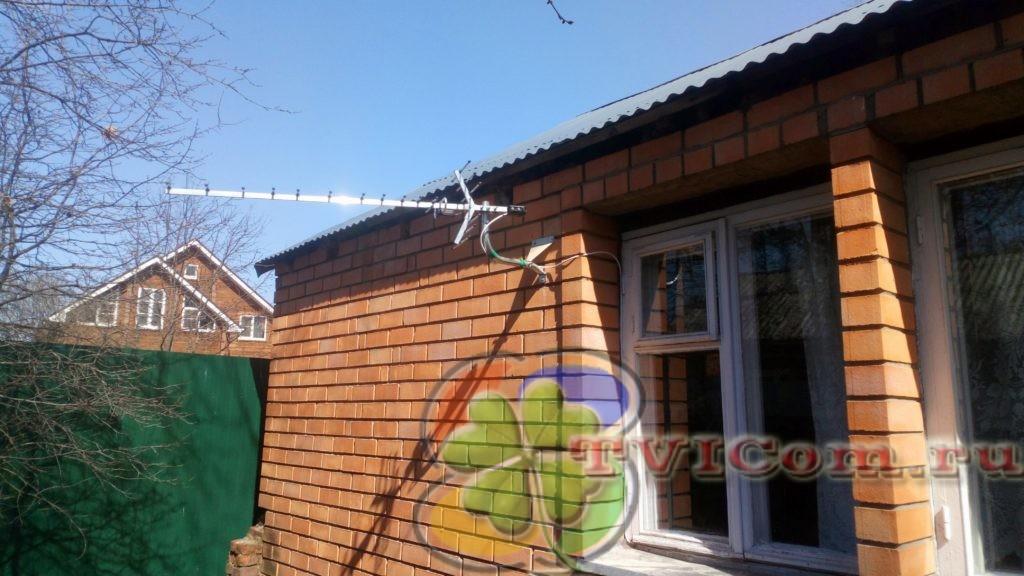 Установить антенну для дачи