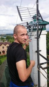 ремонт телевизионных антенн мастером
