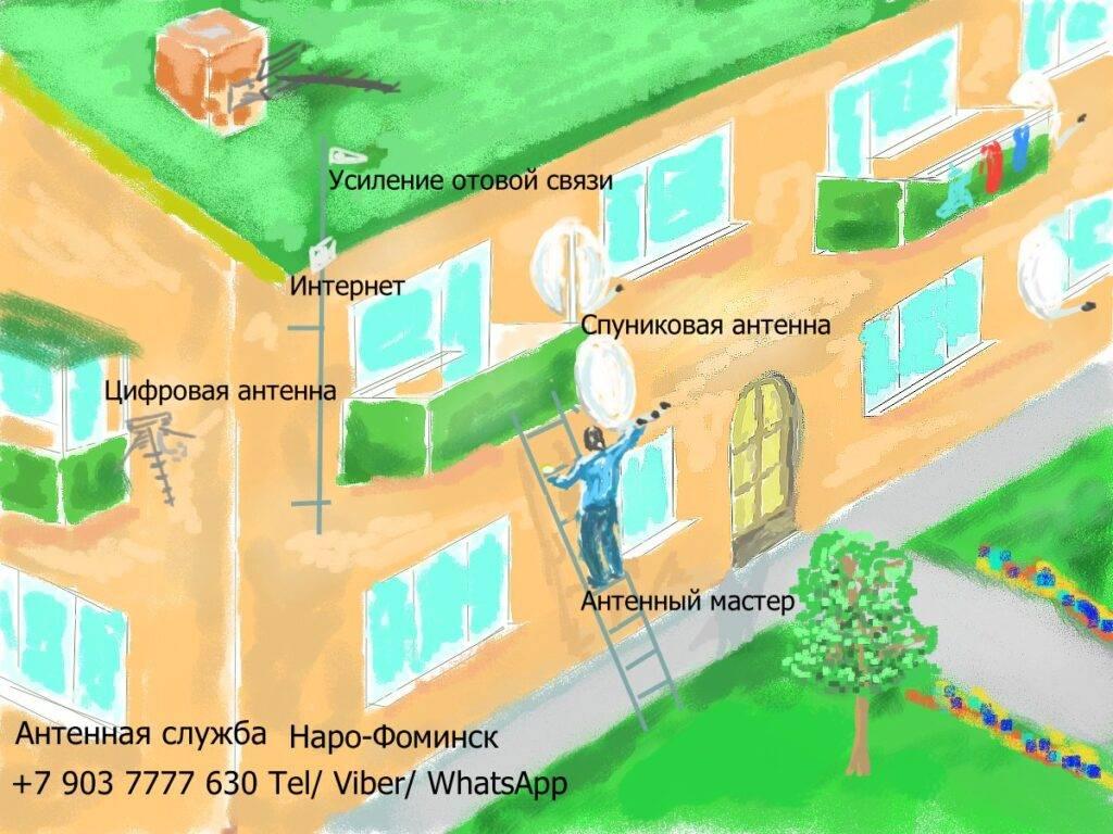 Антенная служба Наро-Фоминск